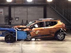 Новые Logan/Sandero заработали две звезды Euro NCAP
