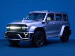 Great Wall с новым брендом Tank: мотор V6 и Кибертанк