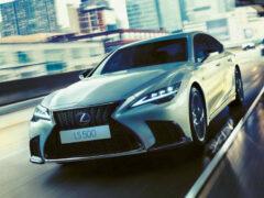Обновленный седан Lexus LS: цены в России