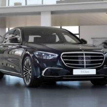 Новый Mercedes S-класса в России: теперь и V8