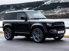 Land Rover Defender V8 появится в России: объявлены цены