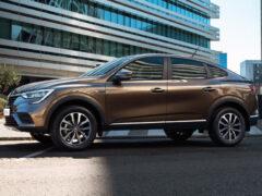 Кроссовер Renault Arkana обзавелся новой топ-версией Prime