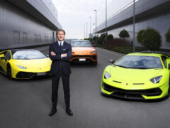 Lamborghini переходит на гибриды и электромобили