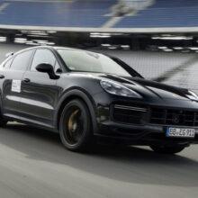 На подходе самый динамичный и драйверский Porsche Cayenne