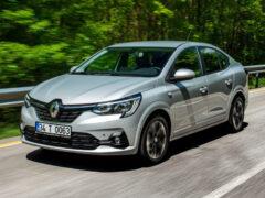 Новый седан Renault Taliant, он же Logan третьего поколения