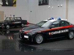 Для карабинеров подготовлена бронированная Alfa Romeo Giulia