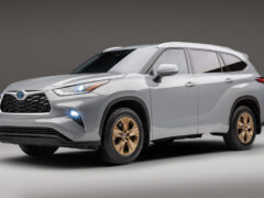 У кроссовера Toyota Highlander появилась «бронзовая» версия