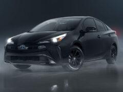 Toyota Prius Nightshade: первый зачерненный гибрид в гамме