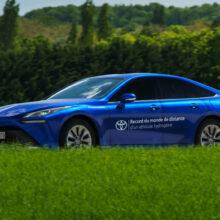Toyota Mirai установила рекорд пробега на одном баке водорода