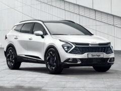 Представлен кроссовер Kia Sportage нового поколения