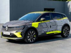 Будущий электромобиль Renault Megane e-Tech вышел на тесты