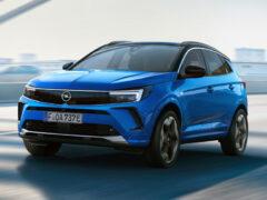 Рестайлинговый кроссовер Opel Grandland примерил новое лицо