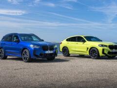 Обновлено семейство кроссоверов BMW X3 и BMW X4