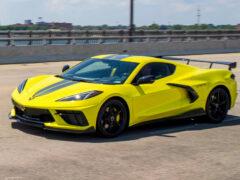 Chevrolet Corvette Stingray: спецверсия в честь чемпионов