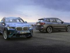 Обновленные кроссоверы BMW Alpina XD3 и XD4 стали мощнее