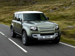 Водородный Land Rover Defender будет готов уже в этом году