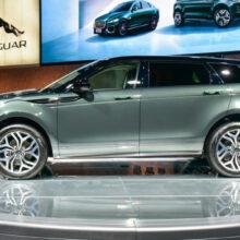 У кроссовера Range Rover Evoque появилась удлиненная версия