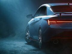 «Горячий» седан Hyundai Elantra N почти готов