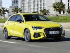 Седан и хэтчбек Audi S3 добрались до России: цена