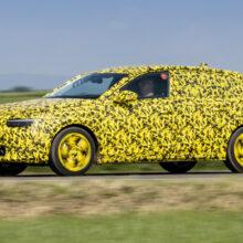 Opel Astra нового поколения: пока в камуфляже