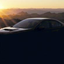 На подходе новый седан Subaru WRX