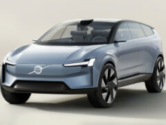 Volvo Concept Recharge предвещает новое поколение электромобилей