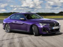 Представлено новое купе BMW второй серии