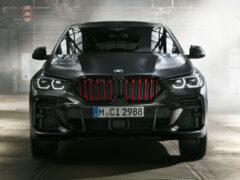 BMW X5 и X6 с красными ноздрями: версия Black Vermilion
