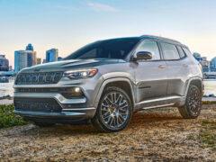 Обновленный Jeep Compass для Америки: больше шика
