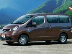 Компактвэн Nissan NV200 Vanette модернизирован в Японии