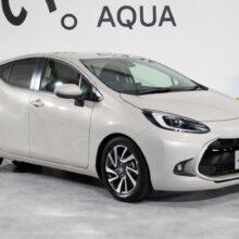 Представлен хэтчбек Toyota Aqua нового поколения