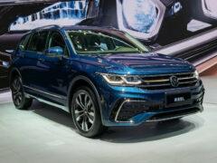 Volkswagen Tiguan обрел новый интерьер, но только в Китае