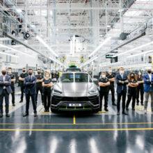 Тираж кроссовера Lamborghini Urus превысил 15 тысяч штук