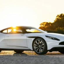 Aston Martin DB11 с мотором AMG стал мощнее