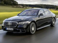 Mercedes S-класса: гибридная версия и новые опции