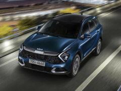Kia Sportage нового поколения: гибрид и базовое оснащение