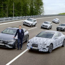 И Mercedes туда же: представлен план электрификации