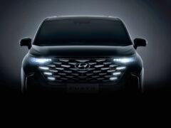 Минивэн Hyundai Custo будет иметь богатый интерьер