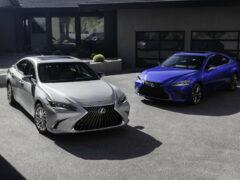 Обновленный Lexus ES: объявлена стартовая цена
