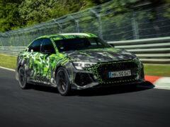 Седан Audi RS 3 установил новый рекорд на Нюрбургринге