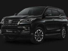 Toyota Fortuner обзавелась спецверсией GR Sport