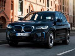 Электрический BMW iX3 обновили через год после дебюта