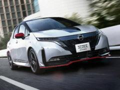 Хэтчбек Nissan Note Aura Nismo отличился боевым характером