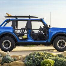 Пляжный Ford Bronco Riptide показал ассортимент доработок