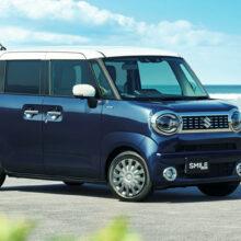 Улыбочку: показан новый микровэн Suzuki Wagon R Smile
