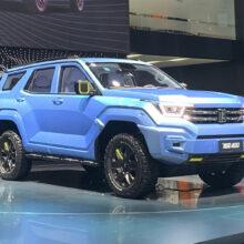 Внедорожник Tank 400 станет пятой моделью бренда