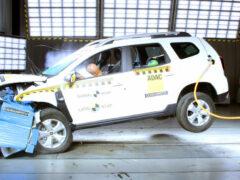 Новый Duster провалил краш-тест Latin NCAP