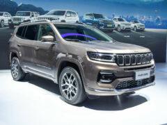 Обновленный Jeep Grand Commander повышен в звании