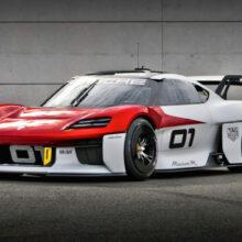 Гоночный Porsche Mission R создан для электрического монокубка