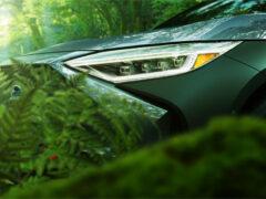 Электрический кроссовер Subaru Solterra: новые изображения